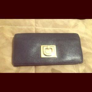 Beautiful Navy ladies wallet